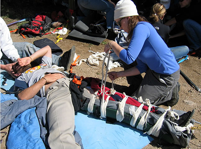 WMI Wilderness First Aid Training