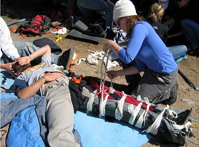 WMI Wilderness First Aid Training